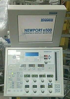 NEWPORT e500 VENTILATOR - Similar to Puritan Bennett 840