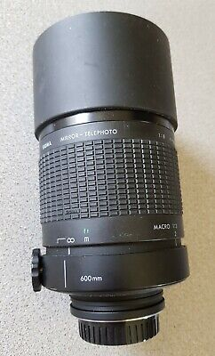 Sigma 600mm mirror - telephoto lens for Minolta-A Multi-coated