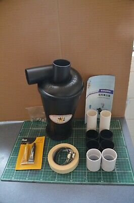 Dust Separator Collector Connect Cyclone  Vacuums Cleaners Filter Tool Diy Set