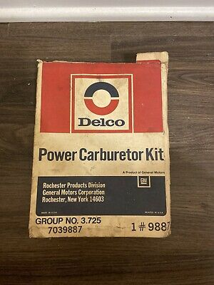 GM POWER CARB KIT 7039137 Delco 1#9887 Group 3.725