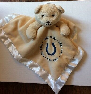 NFL Colts Teddy Lovey with tag
