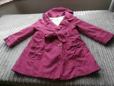 AUTOGRAPH Smart HOODED  Coat Jacket Age 2-3 Years GIRLS VGC