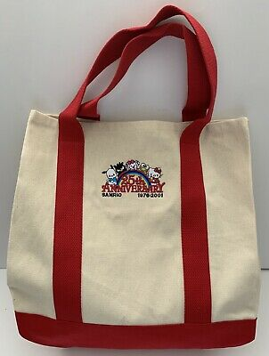 Sanrio Hello Kitty & Friends 25th Anniversary Tote Bag! HTF & Exclusive!