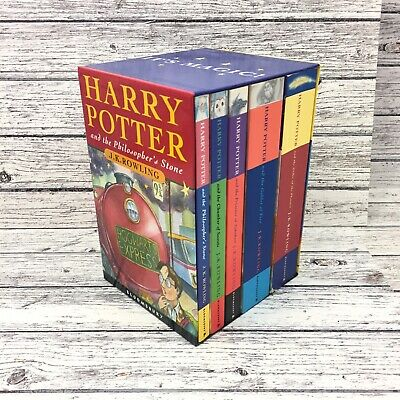 Harry Potter 1-5 Boxed Set Of Paper Back Books Bloomsbury