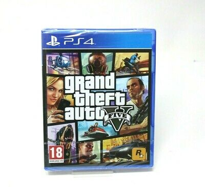 Gran Theft Auto V Five Gta Playstation 4 Ps4 New Sealed Precintado