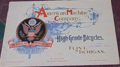 American Machine Company Bicycles 1899 Catalogue/Color