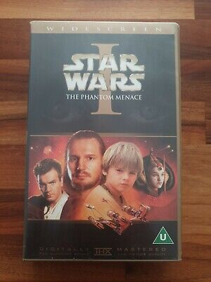 """Star Wars I."""" The Phantom Menace """" Collectable VHS Video."""