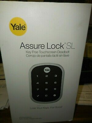 Yale Real Living Assure Lock SL Key-Free Touchscreen Deadbolt - Satin Nickel