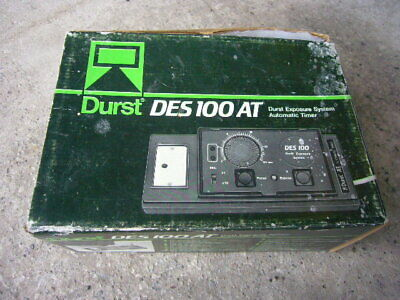 Durst Exposure System Automatic Timer DES 100 AT Very Good Condition
