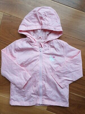 George Girls Waterproof Lightweight Pack-away Jacket 2-3 Years