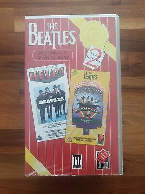 The Beatles 'Help' + 'Magical Mystery Tour' - VHS Tape Set
