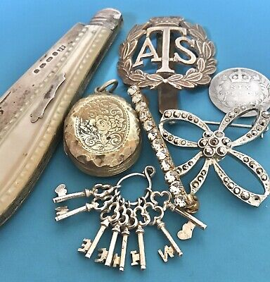 Vintage Mixed Lot - Jewellery, Collectables