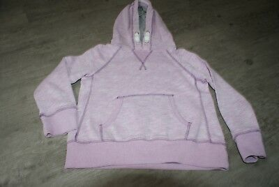 Next Girls Age 6 Years Lilac Hooded Sweatshirt Jumper Hoody Hoodie Pre Loved