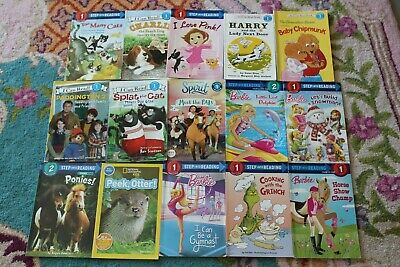 Lot of 15 I can read books level 1 and 2 homeschool