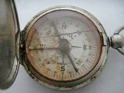 Aurapole Compass Pat. Apr. 20 1915 from 1920's ? Compass  $15