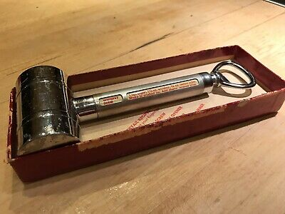 VINTAGE MID CENTURY Dial-a-drink Bottle Opener IN BOX!