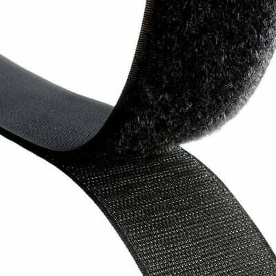 5m of 20mm wide, Self Adhesive Hook and Loop Tape, Strong, Sticky Back