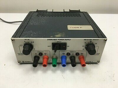 Farnell TOPS-1 Bench Power Supply Unit, 5V @ 1A +-15V @ 200mA Overload Protected