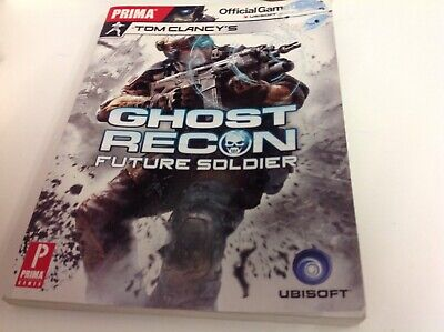 Ghost Recon. Future Soldier. Prima. Official Game Guide. 2013. Paperback