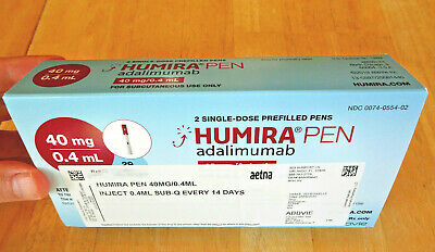 Rare Pharmaceutical Collectible: Official Humira (Adalimumab) Box and Documents