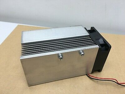 Heat sink for Electronics Applications with 12V Fan, 60x60mm x 125mm Long