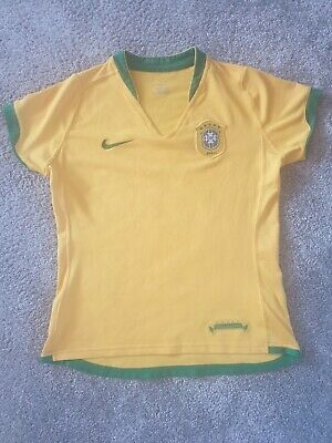 Brazil Kids Football Tshirt