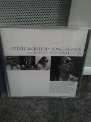 Stevie Wonder Songs Review -A Greatest Hits Collection Cd