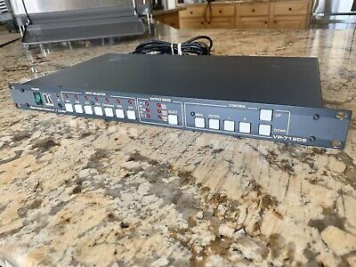 Kramer VP 719DS Seamless Switcher/Scaler
