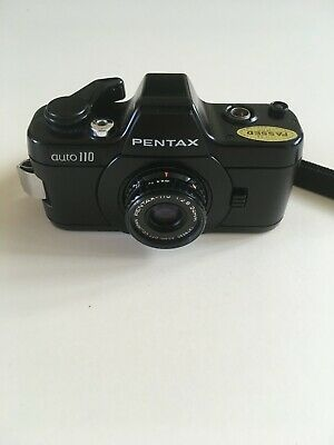 Pentax 110 Auto 1:2.8 24mm (1376530) in case with Skylight filter