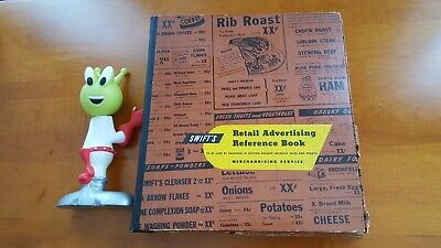 1948 Swift's Meat Dairy Grocery Store Retail Advertising Reference book Salesman