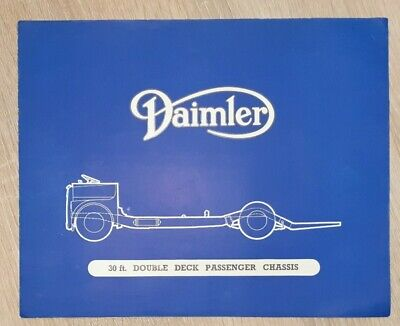 Daimler Bus 30 ft. Double Deck Passenger Chassis