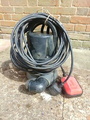 Submersible Sump Pump 230v With Float Switch - for water including solids