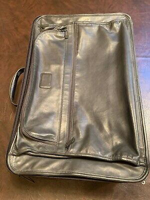 tumi luggage Leather Carry On