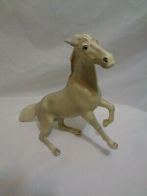 Mid Century Mortens Studio Dun Mustang Horse As Found