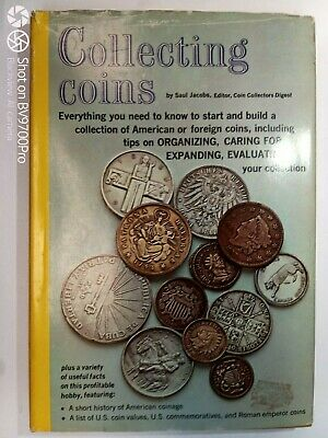 1968 book: Collecting Coins Saul Jacobs