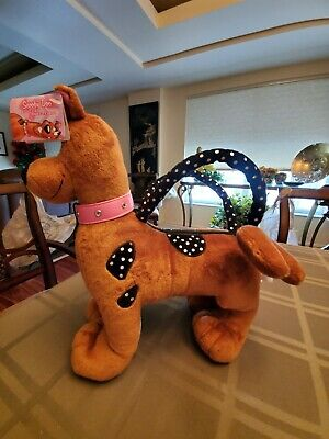SCOOBY DOO Purse Pet Bag NWT free ship 2005 Rare find by Russ