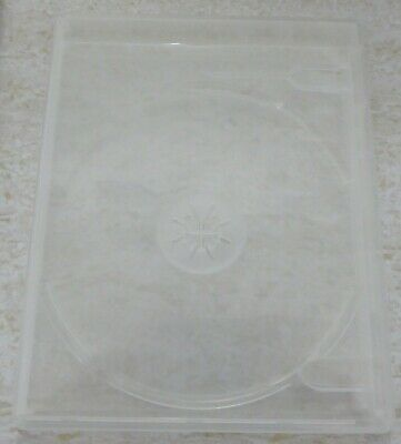 Viva Elite Clear Double Disc Blu-Ray Case 12Mm Without Logo New!