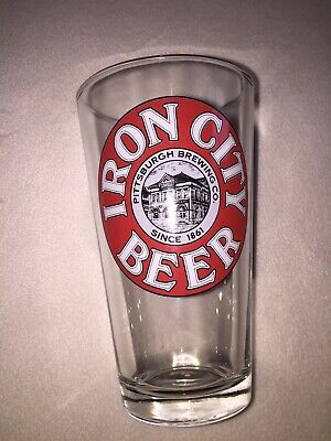 Vintage Iron City Beer Glass Pittsburgh Brewing CO.