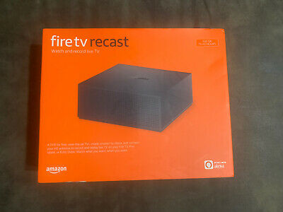 Amazon Fire TV Recast 500GB 75 Hd Hours Over-the-Air DVR Brand New Sealed Alexa