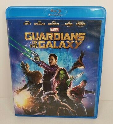 Guardians of the Galaxy Marvel Blu-Ray Disc 2014