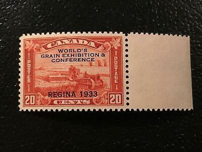 XF MNH SC#203 - 20c Regina Grain Exhibition overprint