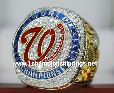 (PRE SALE)   AUTHENTIC  2019 Washington Nationals World Series Ring