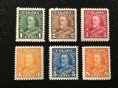 MNH SC#217-222 - 1935 KGV Pictorial Issue