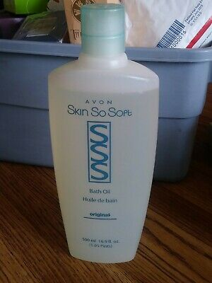 AVON Skin So Soft Bath Oil 16.9 oz. Original formula