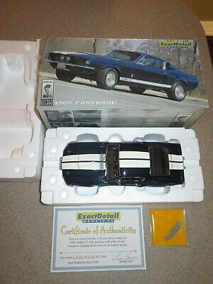 Lane EXACT DETAIL 1967 FASTBACK Ford SHELBY Mustang GT350 MIB Limited Edition!