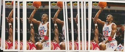 (19) 1991 Ud Upper Deck #48 Michael Jordan Lot - Chicago Bulls The Last Dance