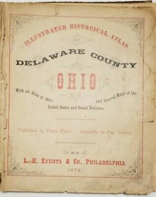 1875 MAPS OF THE UNITED STATES published by L. H. EVERTS & CO........... B189