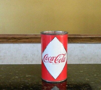 1960 Coca Cola Coke Flat Top Diamond Can from Canada