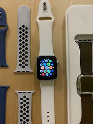 Apple Watch Nike series 3 38 mm Smartwatch  (GPS Only, Silver Aluminum)