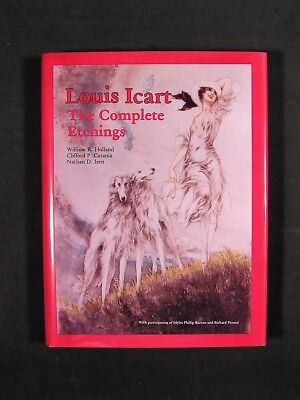 Louis Icart, The Complete Etchings, Brand New Book,